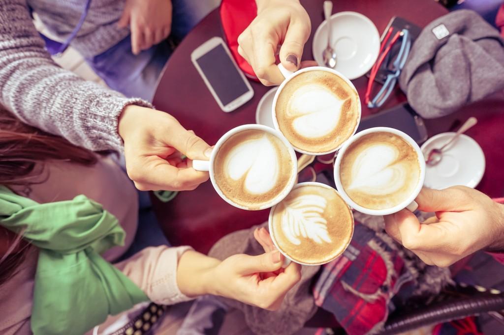 Kaffee & Cafés am 10. September 2016