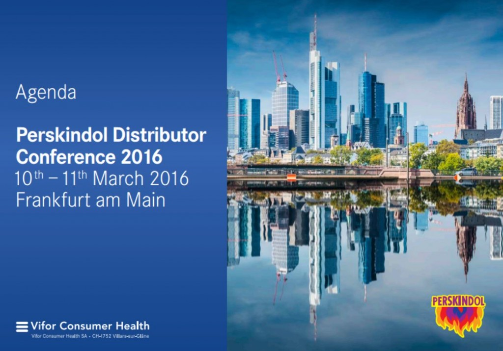 Distributor Conference 2016